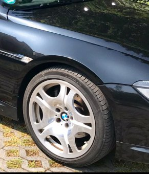 Fuchs (BMW Schmiedefelgen) 34949 Felge in 8.5x19 ET 14 mit Michelin Primacy 3 Reifen in 245/45/19 montiert vorn Hier auf einem 6er BMW E63 650i (Coupe) Details zum Fahrzeug / Besitzer