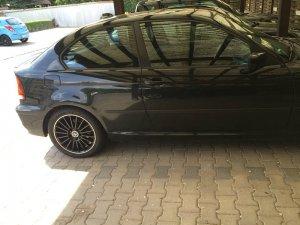 Keskin KT 15 Felge in 7x17 ET 35 mit Goodyear Eagle F1 Assymetric 2 Reifen in 225/45/17 montiert hinten Hier auf einem 3er BMW E46 316ti (Compact) Details zum Fahrzeug / Besitzer