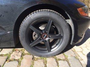 Ronal R 41 Felge in 7.5x16 ET 40 mit Continental WinterContact TS 830 P Reifen in 225/50/16 montiert vorn Hier auf einem Z4 BMW E85 2.5i (Roadster) Details zum Fahrzeug / Besitzer