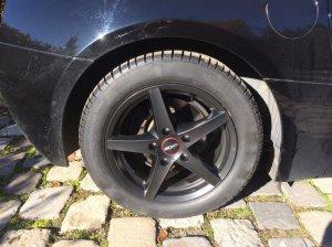 Ronal R 41 Felge in 7.5x16 ET 40 mit Continental WinterContact TS 830 P Reifen in 225/50/16 montiert hinten Hier auf einem Z4 BMW E85 2.5i (Roadster) Details zum Fahrzeug / Besitzer
