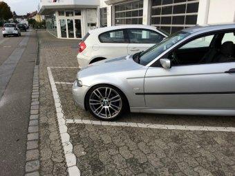 BMW M Sternspeiche 403 Felge in 8x19 ET 36 mit Continental  Reifen in 225/40/19 montiert vorn Hier auf einem 3er BMW E46 318ti (Compact) Details zum Fahrzeug / Besitzer