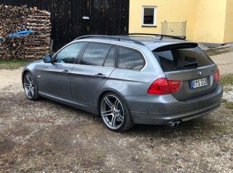 BBS  Felge in 9x19 ET 39 mit Nexen  Reifen in 255/30/19 montiert hinten Hier auf einem 3er BMW E91 325d (Touring) Details zum Fahrzeug / Besitzer