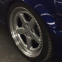 AC Schnitzer typ 2 RS Felge in 8.5x18 ET  mit Pirelli P Zero Reifen in 225/40/18 montiert vorn Hier auf einem 3er BMW E46 323i (Cabrio) Details zum Fahrzeug / Besitzer