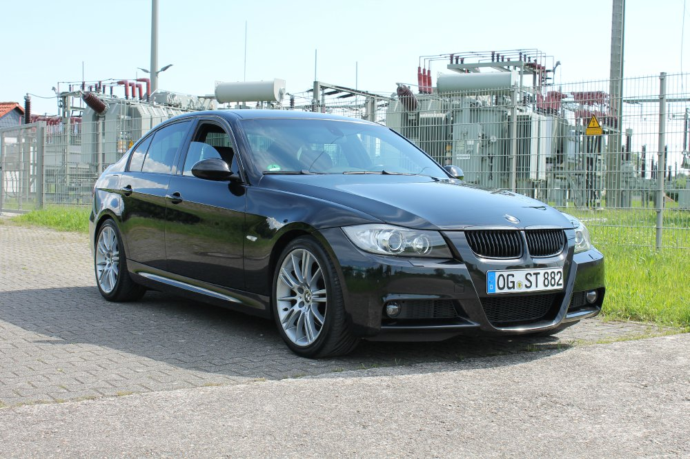 E90 325i N53 Limo Black Is Back