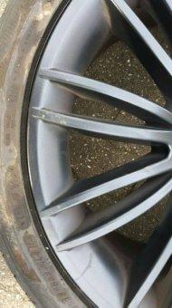 Rondell 0049 Felge in 8.5x18 ET 13 mit Pirelli PZERO Reifen in 245/40/18 montiert hinten mit 6 mm Spurplatten Hier auf einem 5er BMW E60 530i (Limousine) Details zum Fahrzeug / Besitzer