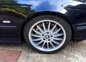 Rondell Typ 63 Felge in 8x18 ET 15 mit Nexen N8000 Reifen in 235/40/18 montiert vorn Hier auf einem 5er BMW E39 540i (Limousine) Details zum Fahrzeug / Besitzer