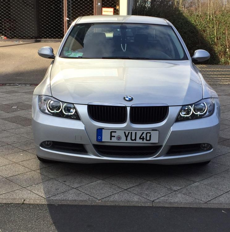 E90 Dark Angel mein Baby - 3er BMW - E90 / E91 / E92 / E93