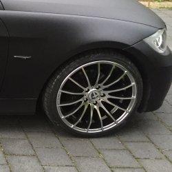 Tomason Tn9 Felge in 8.5x19 ET 35 mit Dunlop Sportmaxx Reifen in 225/35/19 montiert vorn Hier auf einem 3er BMW E90 320i (Limousine) Details zum Fahrzeug / Besitzer