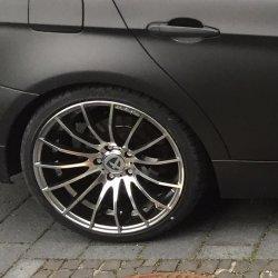 Tomason Tn9 Felge in 9.5x19 ET 35 mit Dunlop Sportmaxx Reifen in 255/30/19 montiert hinten Hier auf einem 3er BMW E90 320i (Limousine) Details zum Fahrzeug / Besitzer