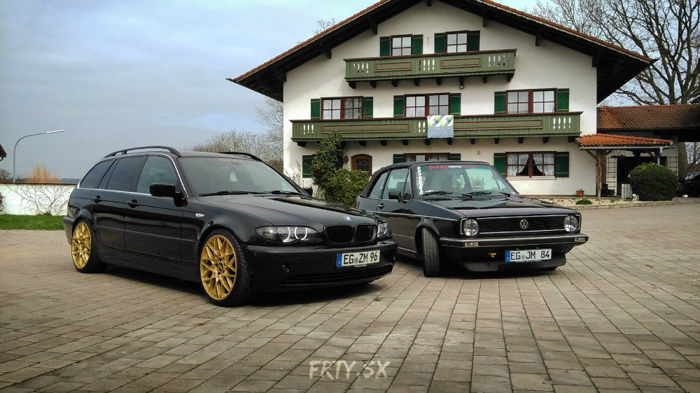 E46 Touring | black & gold - 3er BMW - E46
