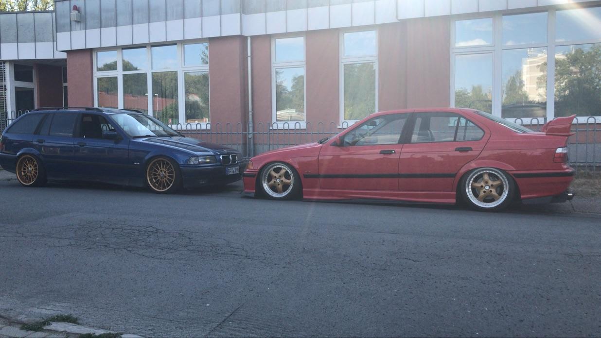 320i Hellrot (Verkauft) - 3er BMW - E36