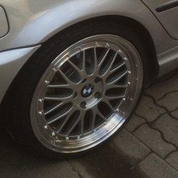 - NoName/Ebay - Ultra UA3 Felge in 8.5x19 ET 35 mit - NoName/Ebay - Achilles Atr sport Reifen in 225/35/19 montiert hinten Hier auf einem 3er BMW E46 320i (Limousine) Details zum Fahrzeug / Besitzer