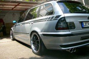 Rial  Felge in 8.5x18 ET 35 mit Rial  Reifen in 235/35/18 montiert vorn mit 10 mm Spurplatten Hier auf einem 3er BMW E46 328i (Touring) Details zum Fahrzeug / Besitzer