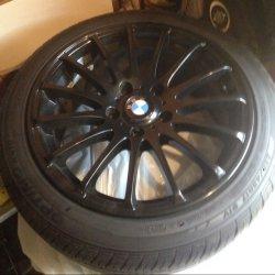AEZ XYLO Felge in 8x17 ET 40 mit Hankook Optimo Reifen in 225/45/17 montiert vorn Hier auf einem 3er BMW E46 318d (Touring) Details zum Fahrzeug / Besitzer