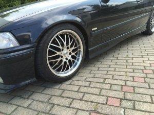 Dotz Mugello Felge in 8.5x17 ET 35 mit Goodyear  Reifen in 215/45/17 montiert vorn Hier auf einem 3er BMW E36 316i (Compact) Details zum Fahrzeug / Besitzer