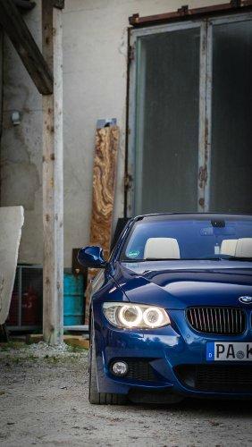 *zu Verkaufen* e93 LCI Traum in Blau - 3er BMW - E90 / E91 / E92 / E93