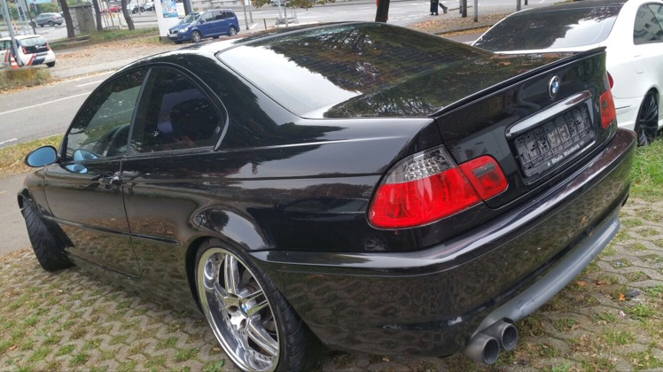 Mein erster QP - 3er BMW - E46