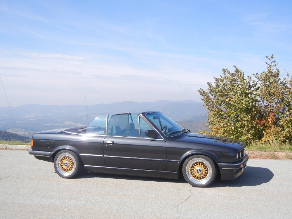 E30 320i Cabrio Diamantschwarz-metallic - 3er BMW - E30