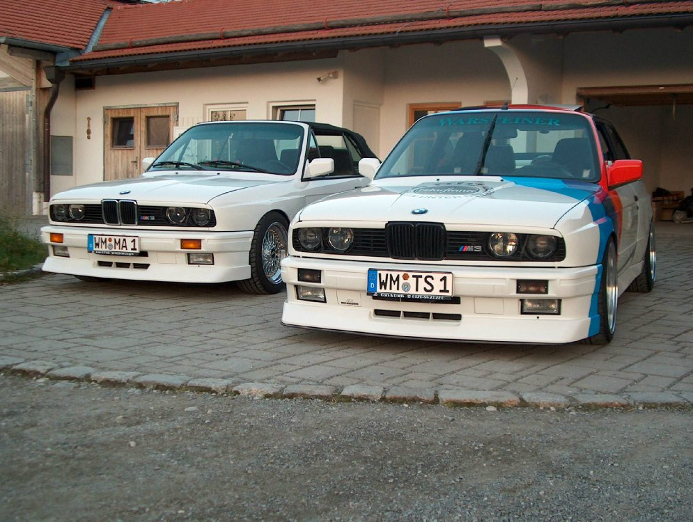 M3 E30 Cabrio in Alpinweiß II - 3er BMW - E30