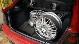 royal wheels GT 20 Felge in 8.5x18 ET 35 mit Fulda SportContol Reifen in 225/40/18 montiert hinten Hier auf einem 3er BMW E46 316ti (Compact) Details zum Fahrzeug / Besitzer