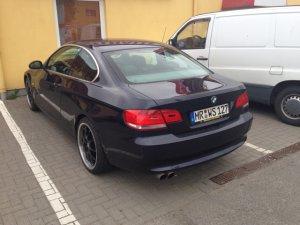 DBV Australia Felge in 8.5x19 ET 35 mit Continental  Reifen in 225/35/19 montiert hinten mit 20 mm Spurplatten Hier auf einem 3er BMW E92 325i (Coupe) Details zum Fahrzeug / Besitzer