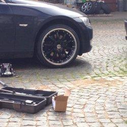 DBV Australia Felge in 8.5x19 ET 35 mit Continental  Reifen in 225/35/19 montiert vorn Hier auf einem 3er BMW E92 325i (Coupe) Details zum Fahrzeug / Besitzer