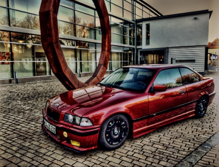 'Winter' 320i Coupe - 3er BMW - E36