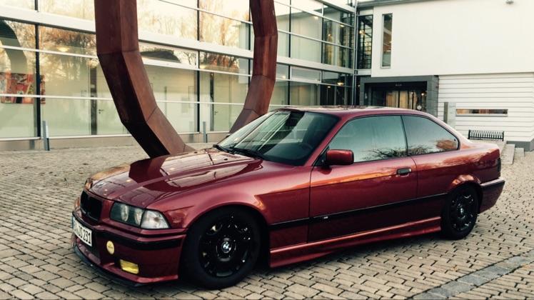 'Winter' 320i Coupe - 3er BMW - E36