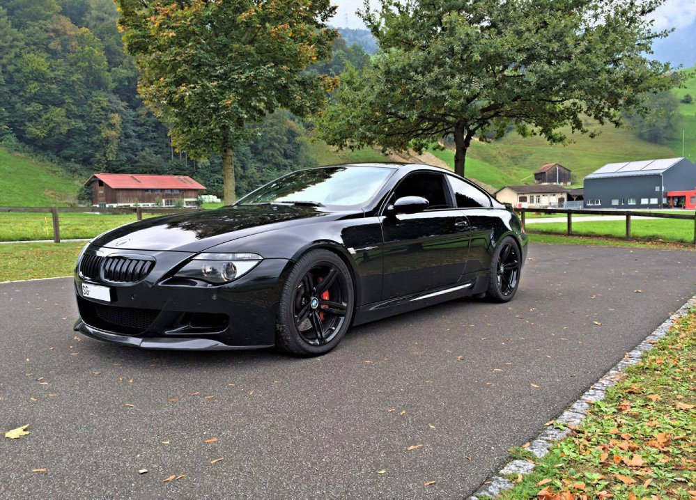 BMW E63 ///M6 *All-Black* - Fotostories weiterer BMW Modelle