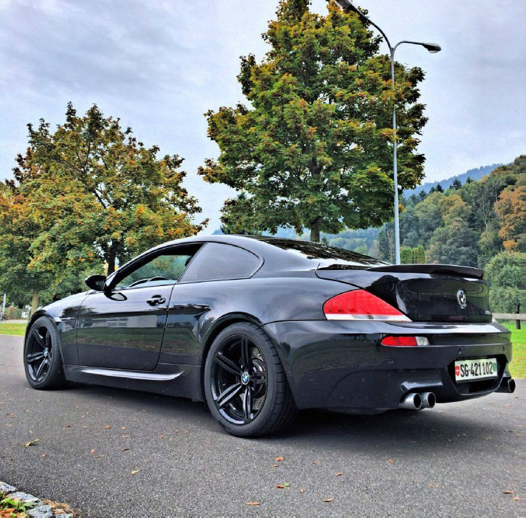BMW E63 ///M6 *All-Black* - Fotostories weiterer BMW Modelle