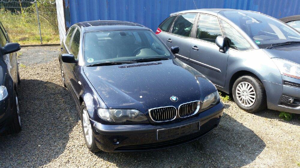 Umbau meines E46 - 3er BMW - E46