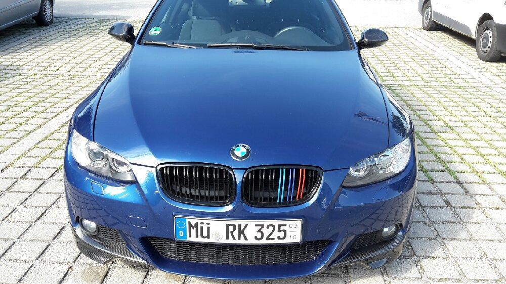 E92 N53 in LE MANS BLAU - 3er BMW - E90 / E91 / E92 / E93