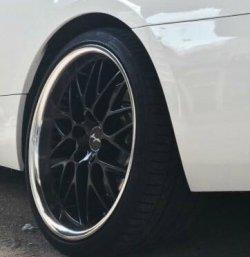 Breyton Race GTR - Matt Black Felge in 9.5x19 ET 40 mit Continental SportContact 6 Reifen in 255/30/19 montiert hinten mit 10 mm Spurplatten Hier auf einem 3er BMW E92 335i (Coupe) Details zum Fahrzeug / Besitzer