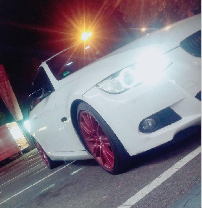 BMW e92 335D alpinweiß red wheels - 3er BMW - E90 / E91 / E92 / E93