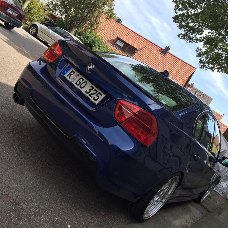 BMW e90 325d Le mans blau - 3er BMW - E90 / E91 / E92 / E93
