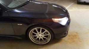 RH Felgen Phönix Felge in 9.5x20 ET 43 mit Falken  Reifen in 255/30/20 montiert vorn mit 35 mm Spurplatten Hier auf einem 5er BMW E60 545i (Limousine) Details zum Fahrzeug / Besitzer