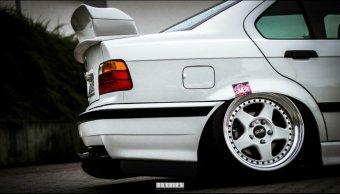 O.Z Futura Felge in 8.5x17 ET 13 mit Hankook Ventus V12 EVO Reifen in 195/40/17 montiert vorn Hier auf einem 3er BMW E36 320i (Coupe) Details zum Fahrzeug / Besitzer