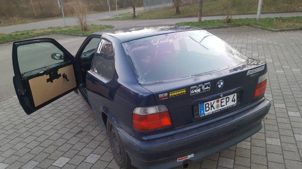 E36 Compact Winterauto leicht Makrolon eingetragen - 3er BMW - E36