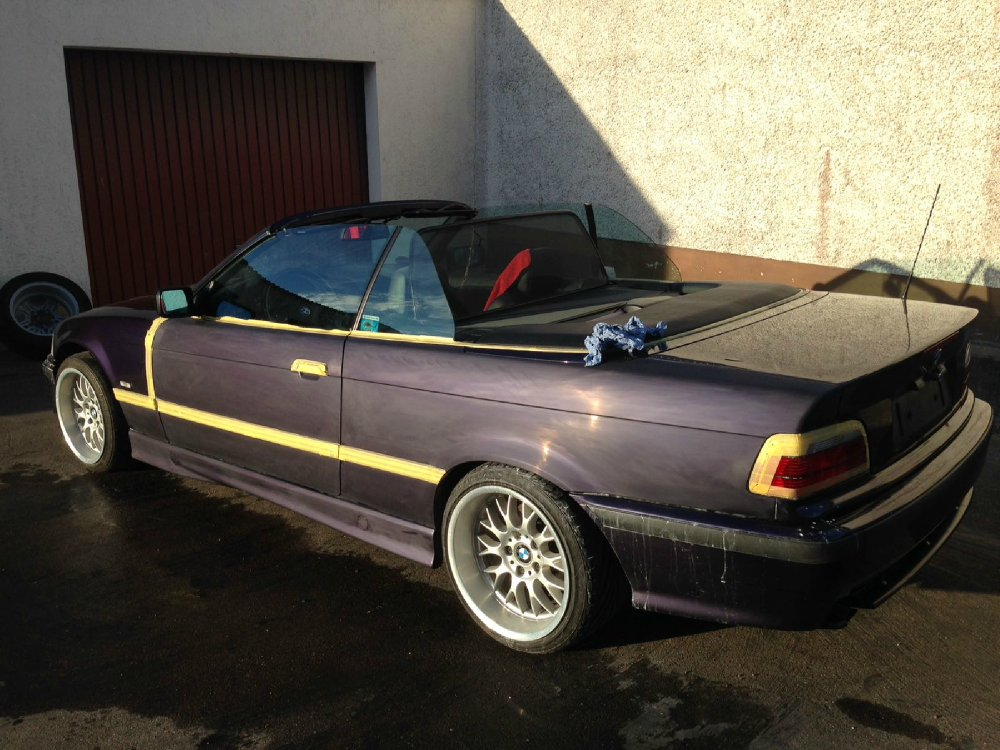Ein Traum in Techno Violett Metallic - 3er BMW - E36