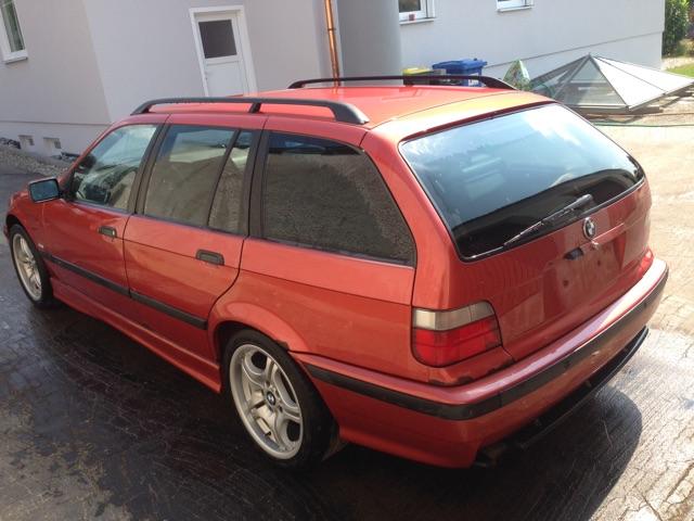 Restauration E36 Touring Sport Edition Sierrarot - 3er BMW - E36