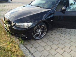 BMW M Performance 313 Doppelspeiche Felge in 8.5x19 ET 35 mit BF Goodrich  Reifen in 235/35/19 montiert vorn mit 15 mm Spurplatten Hier auf einem 3er BMW E92 320d (Coupe) Details zum Fahrzeug / Besitzer
