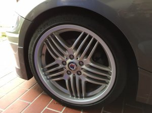 Alpina  Felge in 8.5x19 ET  mit Michelin Pilot Sport Reifen in 235/35/19 montiert vorn Hier auf einem Alpina BMW Z4 E85 Roadster S 3.4 (Roadster) Details zum Fahrzeug / Besitzer