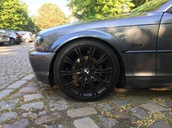 BMW M135 Felge in 8x18 ET 35 mit Falken  Reifen in 225/40/18 montiert vorn mit 10 mm Spurplatten Hier auf einem 3er BMW E46 320i (Coupe) Details zum Fahrzeug / Besitzer