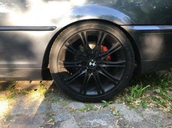 BMW M135 Felge in 8.5x18 ET 35 mit Falken  Reifen in 255/35/18 montiert hinten Hier auf einem 3er BMW E46 320i (Coupe) Details zum Fahrzeug / Besitzer