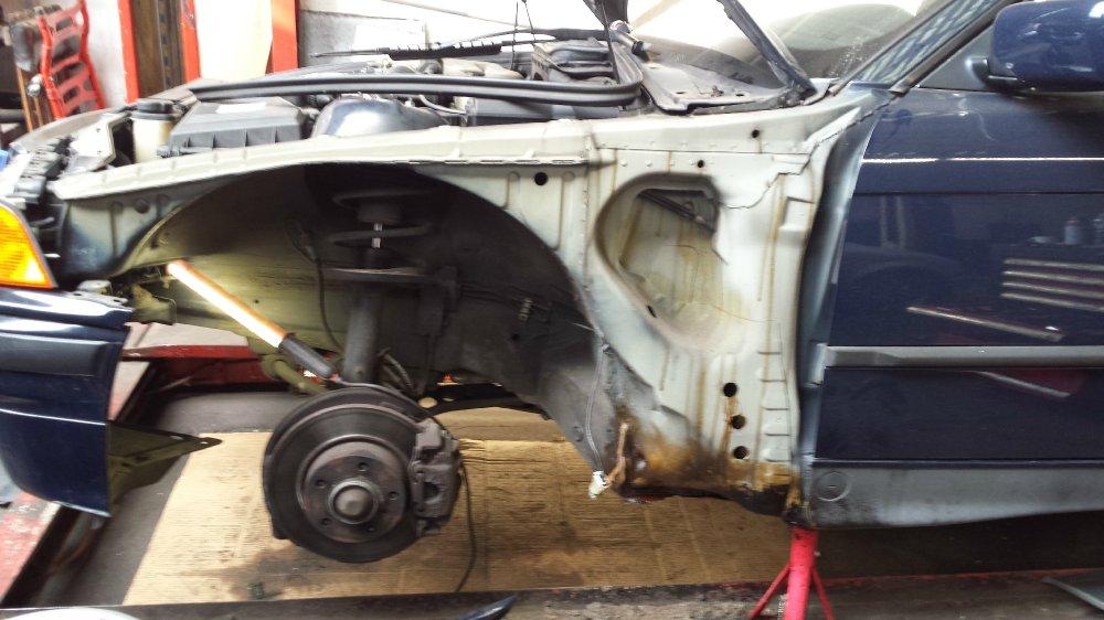 E36 318i Cabrio Projekt 2017 + M52B28 Revision - 3er BMW - E36