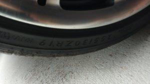 BMW M Performance ** Felge in 10x19 ET 45 mit Dunlop Sport Maxx Reifen in 255/35/19 montiert hinten Hier auf einem Z3 BMW E36 2.8 (Roadster) Details zum Fahrzeug / Besitzer