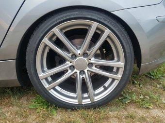 Rial X10 Felge in 8x18 ET 30 mit Hankook Ventus S1 EVO2 Reifen in 225/40/18 montiert hinten Hier auf einem 1er BMW E87 116d (5-Türer) Details zum Fahrzeug / Besitzer