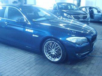 Dotz Mugello bicolor Felge in 8.5x19 ET 35 mit Hankook  Reifen in 245/35/19 montiert hinten Hier auf einem 5er BMW F11 523i (Touring) Details zum Fahrzeug / Besitzer