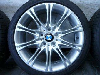 BMW M135 Felge in 8.5x18 ET 50 mit kumho Ecsta LE Sport Reifen in 255/35/18 montiert hinten Hier auf einem 3er BMW E46 330d (Touring) Details zum Fahrzeug / Besitzer