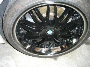 - NoName/Ebay - GTR2 Felge in 8.5x18 ET 35 mit - NoName/Ebay - Star Performer UHP Reifen in 235/40/19 montiert hinten Hier auf einem 1er BMW E87 118i (5-Türer) Details zum Fahrzeug / Besitzer